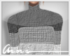 {A} Mutli Grey Sweater