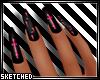 UnHoly Cross Pink Nails
