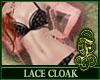 Lace Cloak Pink
