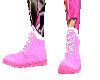 Pink Desert Boots