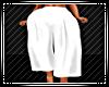 3/4 Summer Pants White