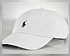 {0H} White Polo Hat