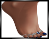 RT`Pretty Toes Blue