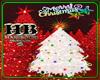 CHRISTMAS TREE WHT HB
