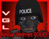 Kevlar Helmet POLICE