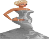 #1 Oval~Office Grey Gown