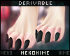 [HIME] Drv. Furry Feet M