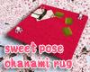 JP sweet hanami rug anim