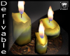 G®Candles on plate