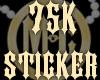 75K Sticker