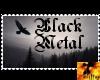 Stamp BLACK METAL