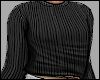 Black Wool Cozy Top
