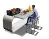 animated BBQ set