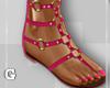 Rosie Pink Sandals