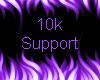 10k Support Sticker