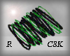 C8K GreenBlack Bangle R