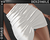 0 | Gather Mini Skirt