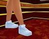 white bouetinted sneaker