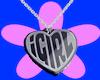 iGirl Pendant Necklace S