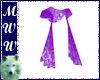 Purple Sheer Lace Shawl