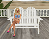 Wooden Deck Chair Double