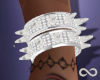 Icey Spiked Bracelets