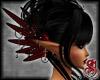 Priestess Ears Red