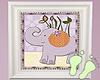 Kids Purple Wall Art V4
