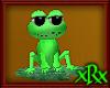 Lily Pad Frog Animated