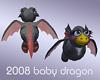 2008 Black Baby Dragon