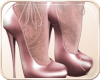 !NC Pink Pearl Lace Heel