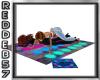 Fuchsia Teal Party Game