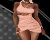 !B! RLS Peach Dress