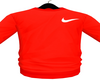 M. Red Nikey Jumper