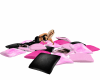 Pink Pillow Pile