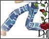 [PBM] Denim Patch Pants
