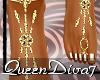 [QD7]Jewelled Feet Gold