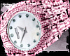 LB / Pink Diamond Watch