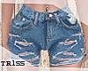 [T] CUT-up Shorts RL♛