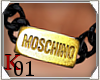 K: MOSCHINO Necklace