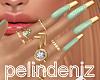 [P] Diana gold nails