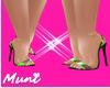 ♕ Diana Lemon Heels