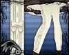 LK~Bow Stockings-Cream