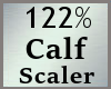 Scale Calf 122% MA