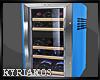 Small Blue Refrigerator
