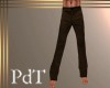 PdT Dark Brown Slacks M