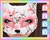 Sakura Kitsune Mask