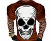 Halloween Skull Shirt M