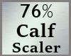 Calf Calves Scale 76% MA