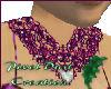 Fuschia Lace Necklace
